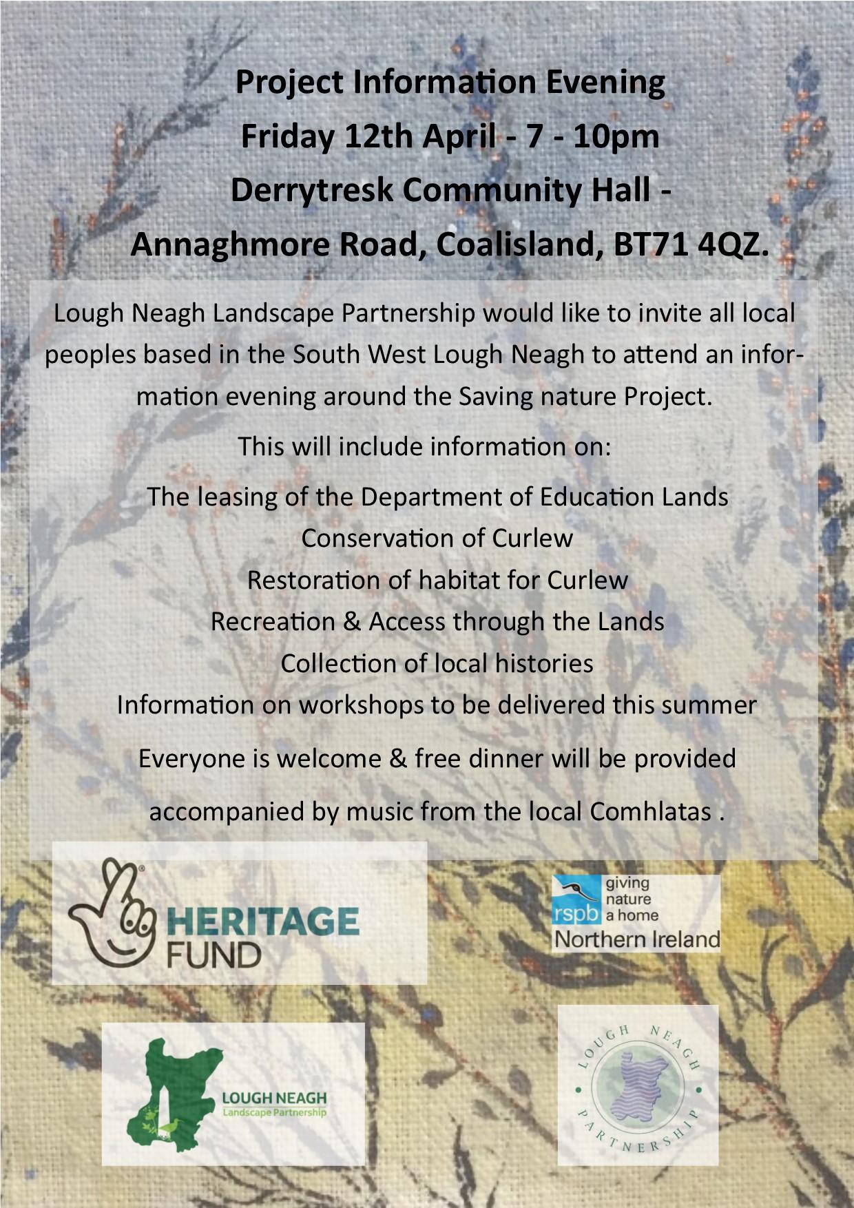 Derryloughin information evening