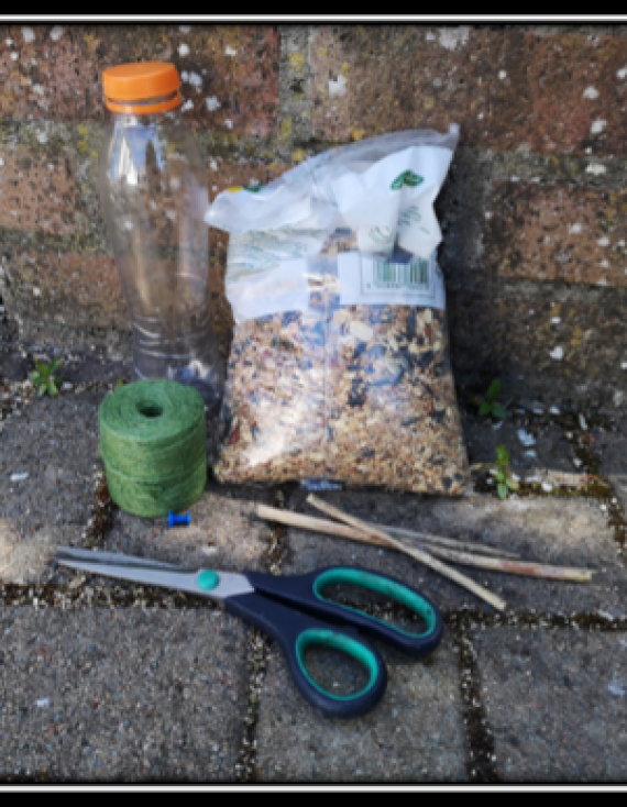 Improving Your Garden for Wildlife – Making Bird Feeders